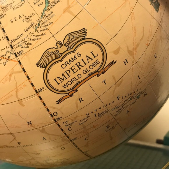 CRAM'S IMPERIAL Other - Vintage World Globe